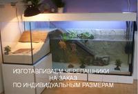 Аквариумы для черепах на заказ