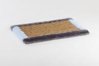 Когтеточка -коврик  (джут-мех)