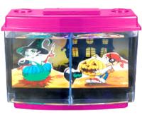 Аквариум SEA STAR  с подсветкой, 8 литров с 3D изображением