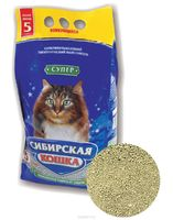 Сибирская Кошка СУПЕР 5л комкующ