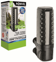 Внутренний фильтр  ASAP 500 (500 л/ч, до 150 л). AQUAEL