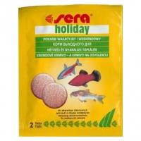 HOLIDAY 2 табл - корм выходного дня, применяется при отъезде, не разлагается в течение 7 дней.