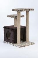 Домик-квадрат с двумя когтеточками