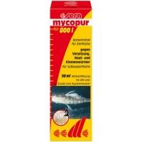 MYCOPUR 50 мл – на 800 литров - лекарственное средство против грибковых заболеваний , кожных и жаберных червей в пресноводных аквариумах. Идеально для сохранения икры