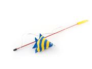 Игрушка удочка с рыбкой скалярией
