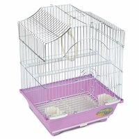 Клетка 2112Z для птиц, цинк, 300*230*390мм