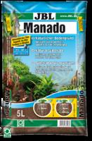 JBL Manado 3l - Питательный грунт, улучшающий качество воды и стимулирующий рост растений, красно-коричневый (цвет латеритной почвы), 3 литра. JBL6702200