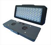 Светильник светодиодный Shark 40 sea, 120Вт (55х3Вт), 400х210х60мм с программным управлением