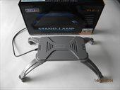Светильник LED TLE-1 для морского аквариума 17х11х2см, 12Вт, серый