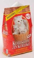 Кошкино лукошко ЭВРИКА 4.5л длиннош диатомит