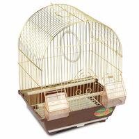 Клетка 2100AG для птиц, золото, 300*230*390мм