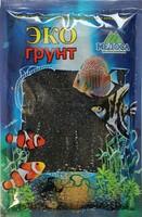 Цветной песок 0,5-1 мм ЧЕРНЫЙ (блестящий) 3,5кг