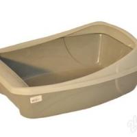 Туалет для кош.СИБИРСКАЯ КОШКА  ЕВРО глубокий с сеткой и бортом