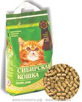 Сибирская Кошка ЛЕСНОЙ 3л древесные гранулы
