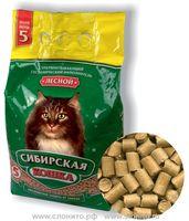 Сибирская Кошка ЛЕСНОЙ 7л древесн гранулы