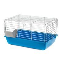 G073 Клетка для кролика KROLIK (Rabbit 60 OC FOLDING) 580х380х340 (оцинкованный прут, складная) INTER-ZOO