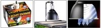 Светильник навесной для ламп накаливания, 18 см