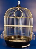 Клетка A9001G для птиц, золото, d335*530мм