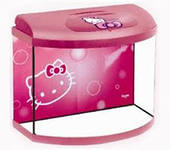 Аквариум HELLO KITTY PEARL 40 розовый