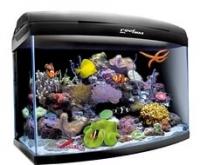 Аквaриум Aquael, REEFMAX 60, 105л, (60х40х45 см) фигурный, черный, свет T5 3х24 Вт, оборудование