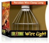 Светильник на зажиме с фарфоровым патроном Wire Light малый
