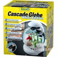 Аквариум  Tetra Caskade Globe Аквариумный комплекс Tetra «Cascade Globe» представляет собой стеклянную емкость с фильтром, прост в установке и уходе.