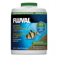 Корм для растительноядных рыб Fluval 750 ml (гранулы)
