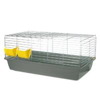 G080 Клетка для кролика KROLIK 100 (Rabbit 100 OC FOLDING) 1000х540х415 (оцинкованный прут, складная) INTER-ZOO