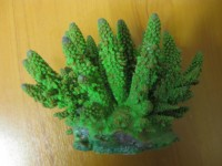 Искусственный коралл АС4231-коралл Фингер зеленый
