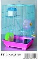 Клетка для грызунов Алиса 35х28х54см 3 этажа