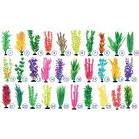 Растения пластиковые Barbus 10см. 1 шт. в ассортименте