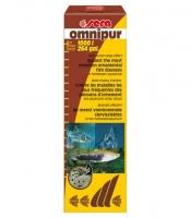 OMNIPUR 50 мл - лекарственное средство широкого спектра действия - одновременная борьба с эктопаразитами, бактриальными и грибковыми инфекциями. На 1000л воды.