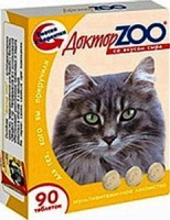 DOCTOR ZOO для кошек сыр