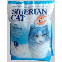 Сибирская Кошка ЭЛИТА 8л силикагель синий