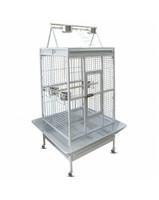 Клетка BC23W для птиц, эмаль, белая, 1230*1030*2030мм