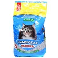 Сибирская Кошка ЭФФЕКТ 5л белый цеолит